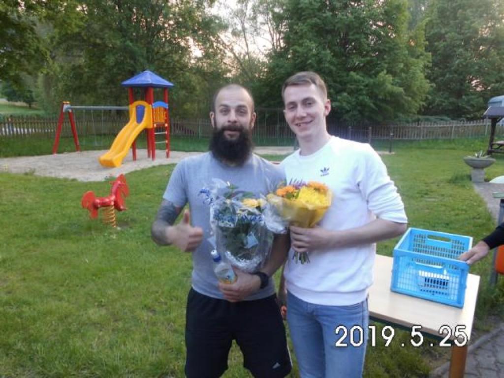 Nicht mehr aktiv für die VSG: David Seidel (links) und Florian Schmutzler