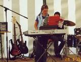 Franziska am Keyboard