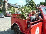 Fahrt mit dem Feuerwehrauto