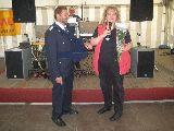 Ortsvorsteherin Simone Hübschmann gratuliert