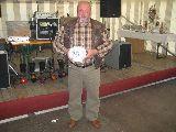 Dank an Sponsor Ralph Pöhland, vertreten durch Vater Peter