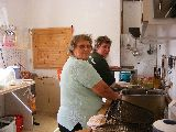 In der Küche mit Vera und Gundel