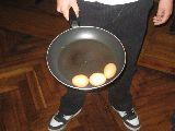 Die rohen Eier