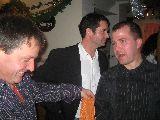 Cheftraine Sven mit Stützen Ralf&Daniel