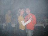 Thomas tanzt mit Babsi im Nebel