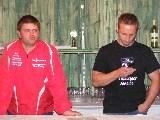 In der Bar: Mirko und Swen