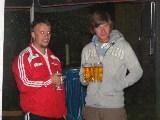 Christoph und Patrick vor dem Trinken