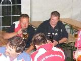 Minzer und Jens mit gutem Bier