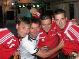 Die Fantischen Vier: Thomas, Sven, Sweety und Martin