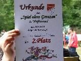 Urkunde Platz 2: Creme-de-la-Creme-Proleten