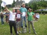 Mannschaftsfoto Platz 1: Promille-Sabber