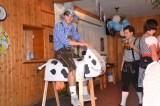 Patrik auf Kuh