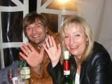 Sogar Gäste aus der Schweiz kamen: Yvonne und Mike