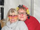 Ganz Fans: Mama Geli mit Tochter Claudia