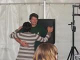 Unser Präsident Jens Hoppe beim Tänzchen mit seiner Marina