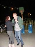 Tanzten Im Freien: Antje und Frank