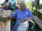 Mit 97 der älteste Besucher: Siegfried Hopf