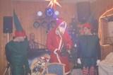 Der Weihnachtsmann malle mit seinen WichtelnSweety und Felix beginnen mit den Ehrungen