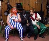 Obelix, Bruce und Sultan